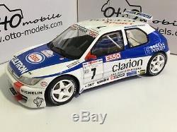 PEUGEOT 306 MAXI 1/18 OTTO Tour de Corse 1996 Gilles PANIZZI