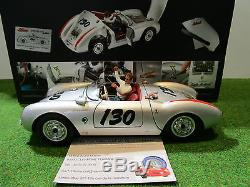 PORSCHE 550 A Spyder # 130 James Dean au 1/18 SCHUCO 450033200 voiture miniature