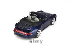 PORSCHE 911 993 TURBO CABRIOLET 1/18 GT Spirit OttO GT257 EN STOCK