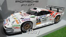 PORSCHE 911 GT1 1997 #30 Les 24 h le mans 1/18 UT Models voiture miniature