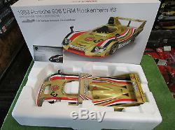 PORSCHE 936 DRM # 3 TEAM JOEST RACING 1/18 TRUESCALE TSM121805 voiture miniature