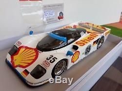 PORSCHE 962 DAUER #35 SHELL 3rd LE MANS 1994 1/18 SPARK 18S035 voiture miniature