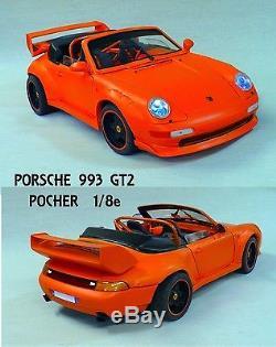 PORSCHE 993 GT2 Cabrio POCHER 1/8e