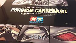 Porsche Carrera Gt Silver Au 1/12 Par Tamiya