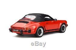 PRE ORDER/PRE-COMMANDE PORSCHE 911 3.2 SPEEDSTER 1/18 GT Spirit OttO GT130