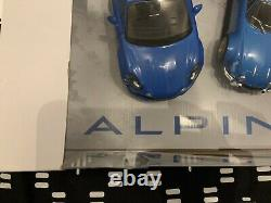 Pack Alpine 2017 + Alpine A110 1973 1800s 1/18 Solido