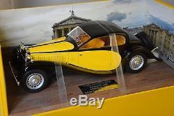 Pantheon 006 Bugatti Type 50 1931 Profile Jaune / Noir 1/18