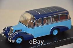 Perfex 318 Citroen U23 Bus Belle Clot 1948 Ferme Bleu 2 Tons 1/43