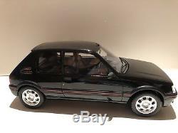 Peugeot 205 GTI Noire Black 1/12 OTTO ottomobile 250 Ex de Laventure Peugeot