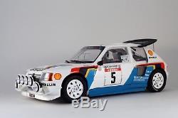 Peugeot 205 T16 Evo2 n°5 Bruno Saby Tour de Corse 1/12 Otto NEW