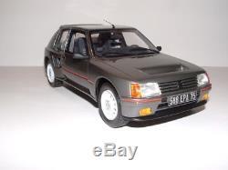 Peugeot 205 T16 turbo 16 serie 200 1/18 (2000ex) otto ottomobile OT039