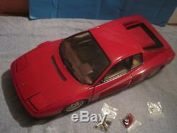 Pocher 1/8 Maquette Ferrari Testarossa Rouge Bon Etat