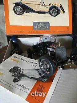Pocher Alfa Romeo Spider Touring Gran Sport 1932 1/8 Scale
