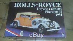 Pocher Rolls Royce Phantom II Torpedo Cabrio