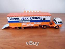 Podium cirque Jean Richard miniature Euro Circus Models 1/50