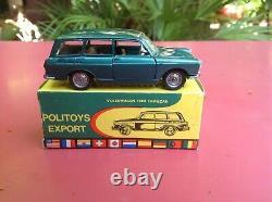 Politoys Export VOLKSWAGEN 1600 Variant Familcar N 542 Mint in box so dinky