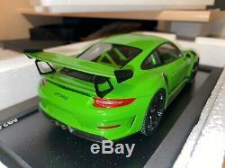 Porsche 911 991 Gt3 Rs Lizard Green 1/18 Spark Wap0211590J