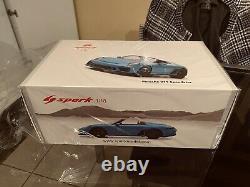 Porsche 911 991 Speedster 1/18 Spark Blue 18s467