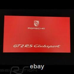 Porsche 911 GT2 RS Clubsport type 991 Salzburg Design 2018 1/18 Spark WAXL210000