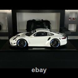 Porsche 911 GT3 R type 991 2019 blanc 1/8 Minichamps 800196000