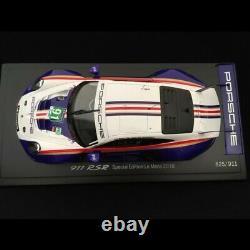 Porsche 911 RSR type 991 24h du Mans 2018 n° 91 Style Rothmans 70 ans Porsche 1/