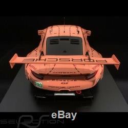 Porsche 911 RSR type 991 vainqueur 24h du Mans 2018 n° 92 Cochon rose 70 ans Por