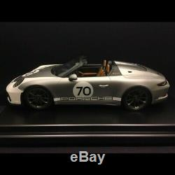 Porsche 911 Speedster 991 Heritage Design package n° 70 gris métal 2019 1/12 gri