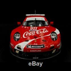 Porsche 911 type 991 GT3 RSR n° 911 Coca-Cola Petit Le Mans 2019 1/18 Spark WAP0