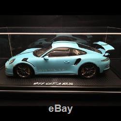 Porsche 911 type 991 GT3 RS Olympia bleu 1/12 Spark WAX02200003