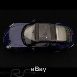 Porsche 911 type 992 Carrera 4S Coupe bleu gentiane 1/18 Minichamps WAP0211830K