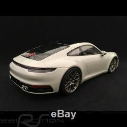 Porsche 911 type 992 Carrera 4S Coupe gris craie 1/18 Minichamps WAP0211820K