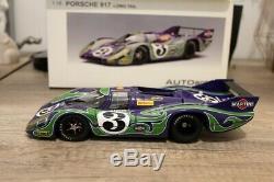 Porsche 917 LH Martini n°3 Le Mans 1970 1/18 AUTOART 87075 like new