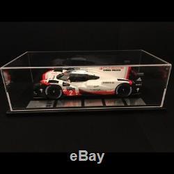 Porsche 919 Hybrid Vainqueur Le Mans 2017 n° 2 LMP1 1/18 Spark WAP0219190J