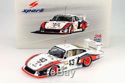 Porsche 935/78 Moby Dick #43 8th 24h LeMans 1978 Schurti / Stommelen 118 Spark