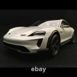 Porsche Mission E Cross Turismo 2018 gris blanc 1/18 Spark WAP0219000J