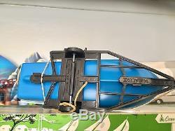 Rare Ancien Coffret Minialuxe Caravaning Citroen Ds 21 Bateau Ech 1/32 Eme