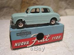RARE MERCURY ANCIEN n°13 SUPERBE FIAT NUOVA 1100 EN BOITE D'ORIGINE