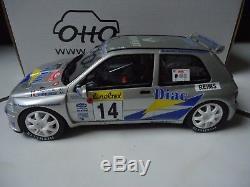 RARE Renault clio maxi 14 ragnotti 1/18 (1500ex) otto ottomobile OT010