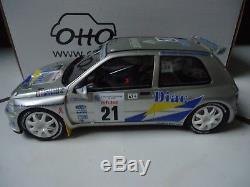 RARE Renault clio maxi 21 bugalski 1/18 (1500ex) otto ottomobile OT508