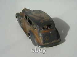 RARISSIME en DORE et châssis FRANCE. Dinky Toys FRANCE 24P Packard état d'usage