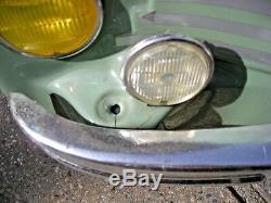 RENAULT 4 CV CABRIOLET VOITURE A PEDALE PEDAL CAR TOYS TOYS incomplète