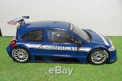 RENAULT SPORT MEGANE TROPHY GENDARMERIE 1/18 base SOLIDO voiture artisanale