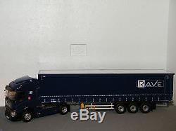 RENAULT T460 TAUTLINER TRANSPORTS RAVE ELIGOR 1/43 Ref 115888