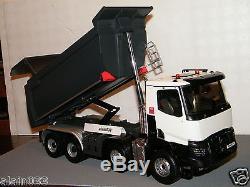 RENAULT TRUCKS K520 XTREM 8x4 BENNE MEILLER ELIGOR 1/24 Ref 115180