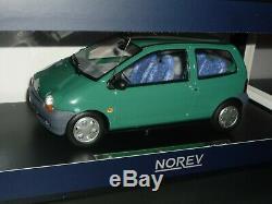 RENAULT TWINGO Coriandre Green Vert 1993 1/18 Norev la 63 sur 150 série limitée