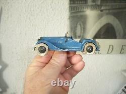 Rare Dinky Toys Made In France Roadster 2 Places 24h Avant Guerre