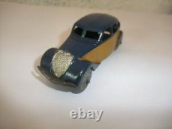 Rare Dinky Toys Peugeot 402 Taxi Ref 24l Meccano Made In France