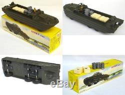Rare Dukw Amphibie Dinky Toys N° 825 + Boite D'origine