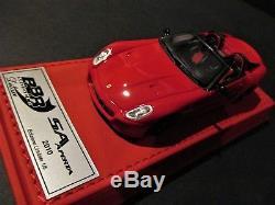 Rare Ferrari Sa Aperta 2010 Rosso Corsa 322 Bbr 1/43 Bbrc49rcdl Deluxe N°01/05