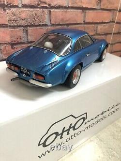 Rare G001 Alpine A110 GR. 4 1800 1/12 Num 110/999 Ottomobile
